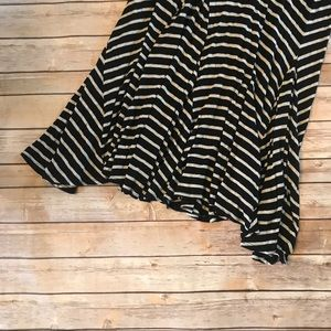 Anthropologie Skirts - Anthropologie • Bordeaux striped maxi skirt